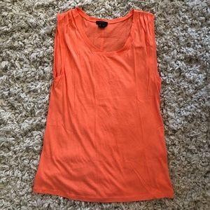Theory orange tank top